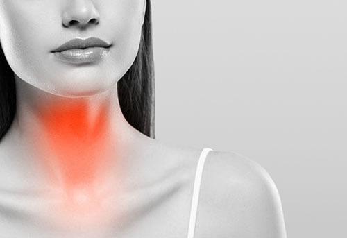 mal di gola persistente
